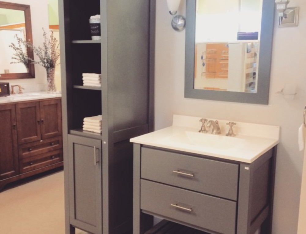 Degrees of Comfort Brattleboro Bertch Vanity Display